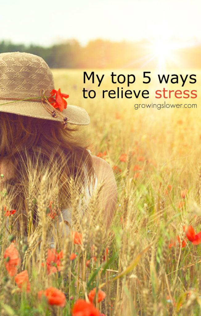 5 Natural Stress Management Tips for Moms