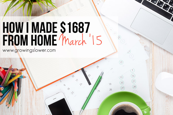 Do you dream of staying at home with your kids while building a business you're passionate about? I'm sharing openly about how I Earned $1687 from Home in March. I hope to encourage other moms that they can work from home and spend more time with their children, too!