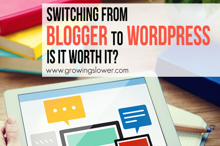 Three questions you should ask when considering Is It Worth It to Switch to WordPress? Plus, my actual traffic results when I finally took the leap! If you're trying to start or grow your blog or work from home business, be sure to consider this important first step.