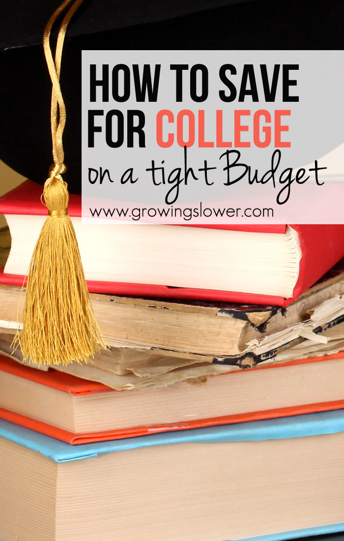 You can help your kids save for college and drastically reduce their student loan debt, even on a tight budget. I was amazed at how much we can help our kids save, even with only very small contributions to their college savings. Check it out!