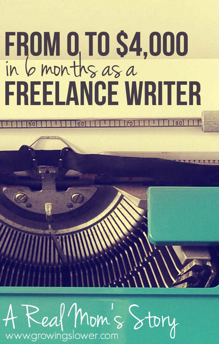 """Meet Gina! She decided to learn how to become a freelance writer, and as she puts it, """"Within 6 months I was earning $4,000 per month from freelancing, while working full-time and raising 2 toddlers."""" And she didn't stop there. Last month, she earned $9,431 from home. Here's the story of her journey becoming a full time work at home mom. And she wants to show you how you can get started freelance writing too!"""