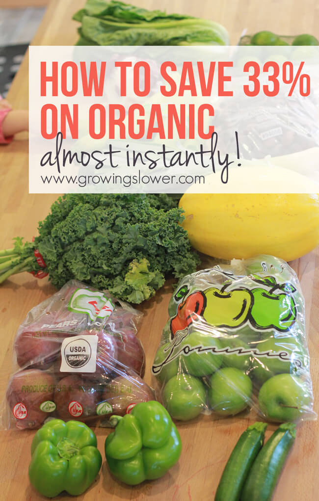 I got a fantastic tip from one of my grocery savings students recently. She had heard there was a way to pay $15 for $50 worth of fruits and veggies ($25 for organic). I just couldn't wait to find out if it really worked! In this post you'll find out learn what Bountiful Baskets is, how it works, and how to use it as a super easy way to save money on groceries.