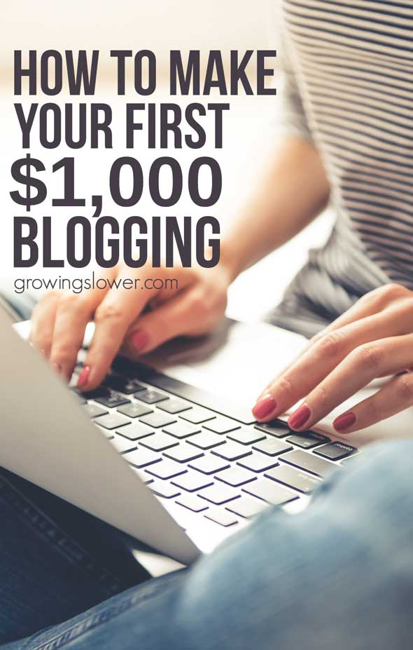 Find out how to make money with a blog for beginners with this easy guide. Whether you want to be a stay at home mom or earn some extra cash writing and sharing your passion with the world, you can do it! Here's how.