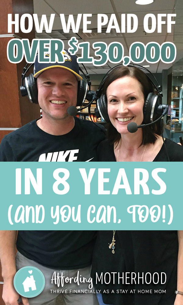 Chrysti and her husband paid off over $130,000 to be debt free. Read their amazing paying off debt success story here.