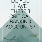 It is important to take the time to set up these three accounts so your family can be financially prepared for whatever may come